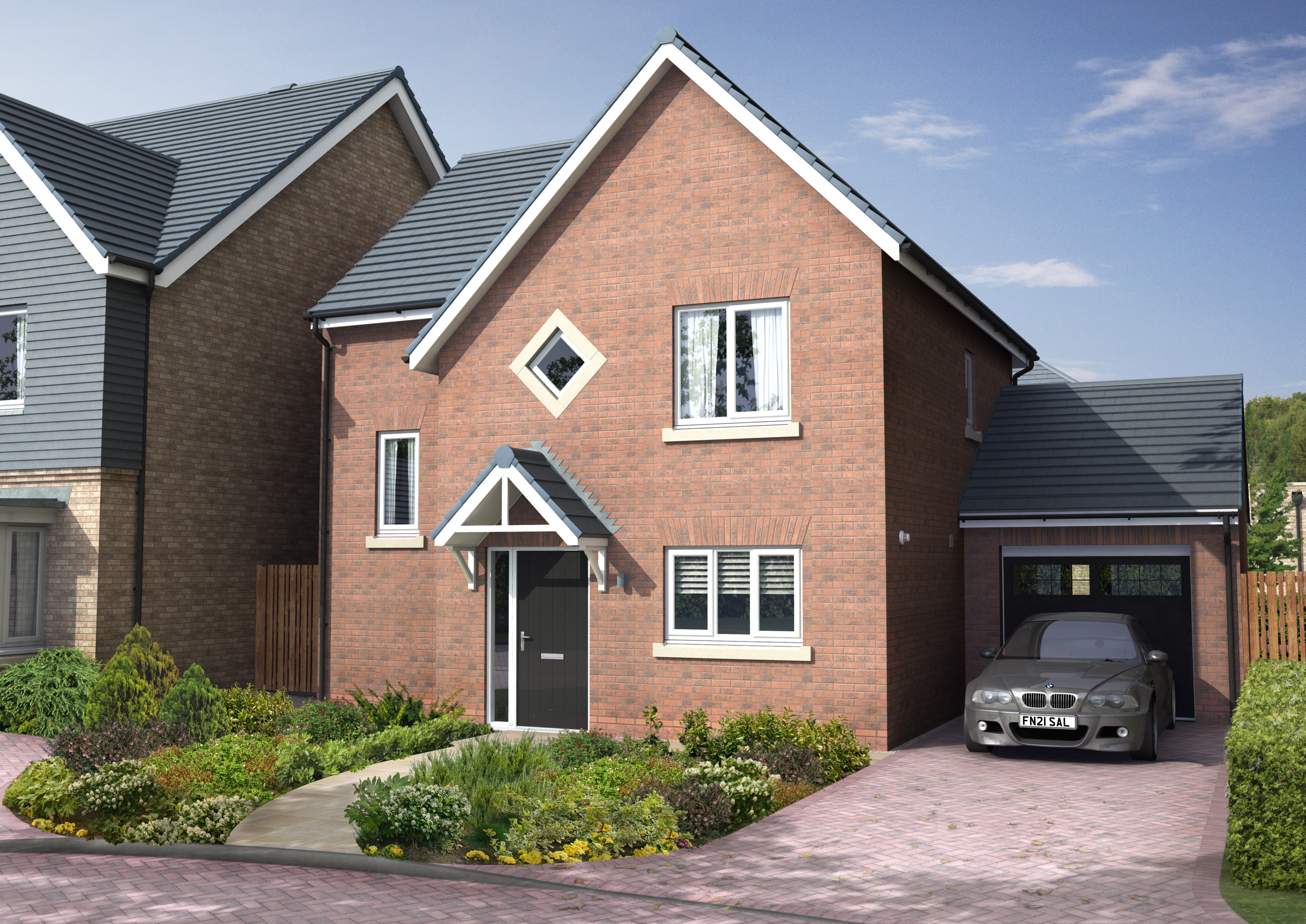Langley show home the langley cottier grange prudhoe for Langley home