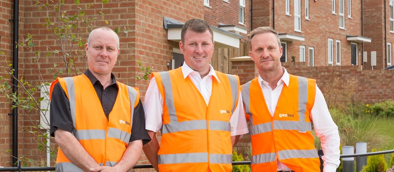Castle Rise site team receive leading industry accolade