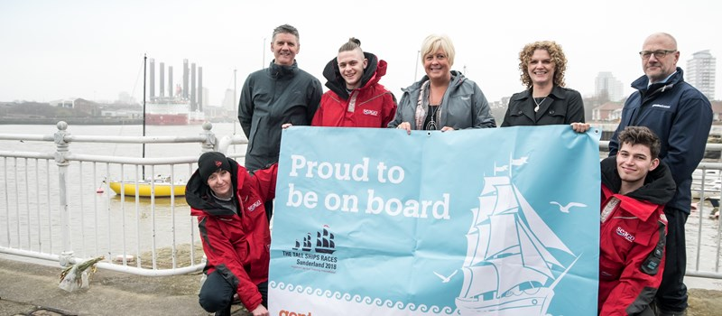 Young people set to take sail on the opportunity of a lifetime thanks to Gentoo Homes and Gentoo Group
