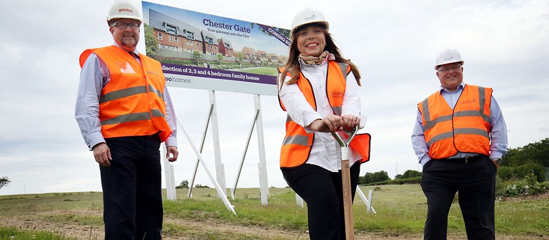 Major construction work set to get underway at flagship Chester Gate development